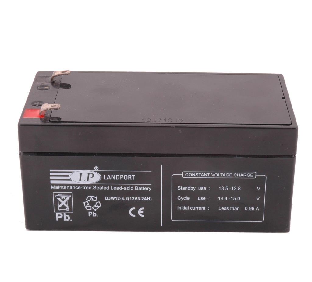 Accu Landport DJW12-3.2 SLA (12V/3,2A)