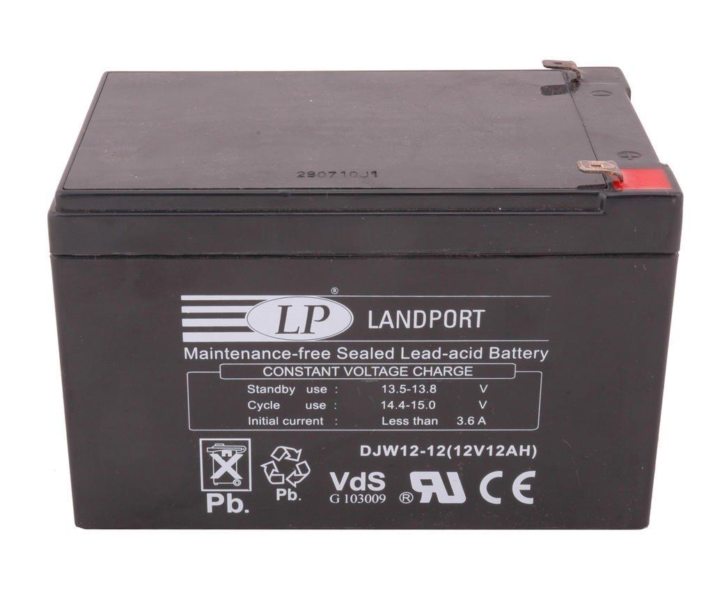 Accu Landport DJW12-12 SLA (12V/12A)